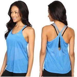 Nike Dri-FIT Blue Cool Breeze Strappy Tank